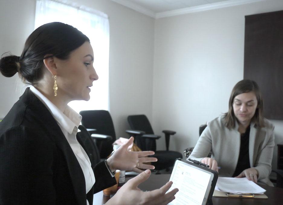 Dr. Hannah Karolak one-on-one education