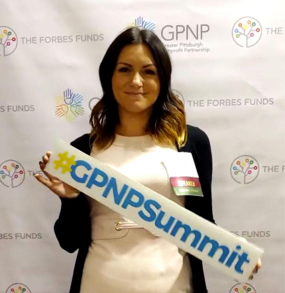 Dr. Hannah Karolak at the GPNP Summit 2019