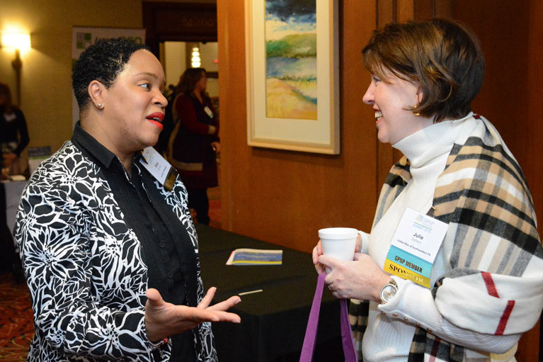 GPNP Member has a discussion with United Way during the 2019 GPNP Summit