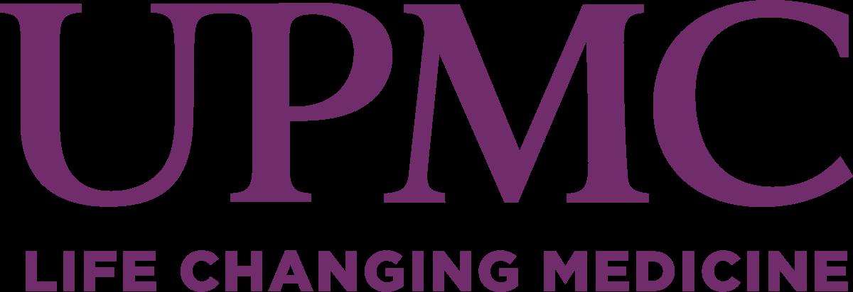 Corporate sponsor logo: UPMC