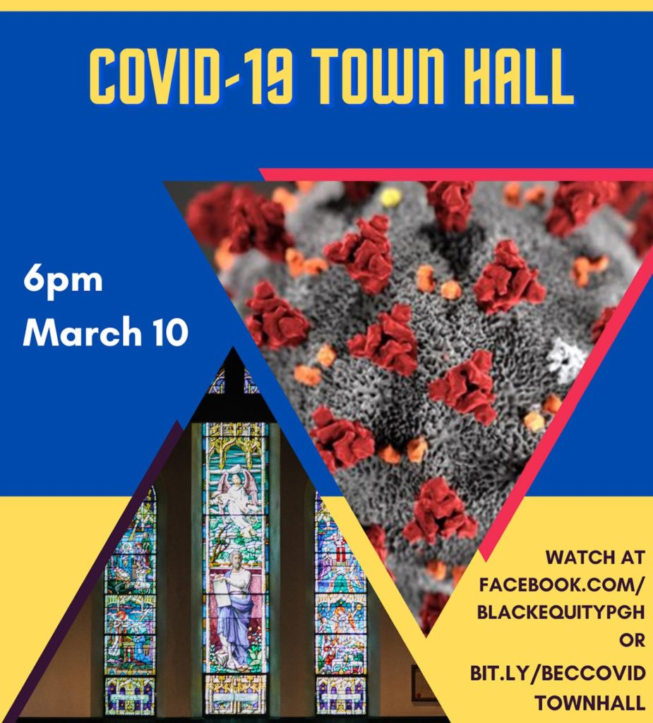 COVID-19 Black Equity Coalition and PA Dept of Health townhall