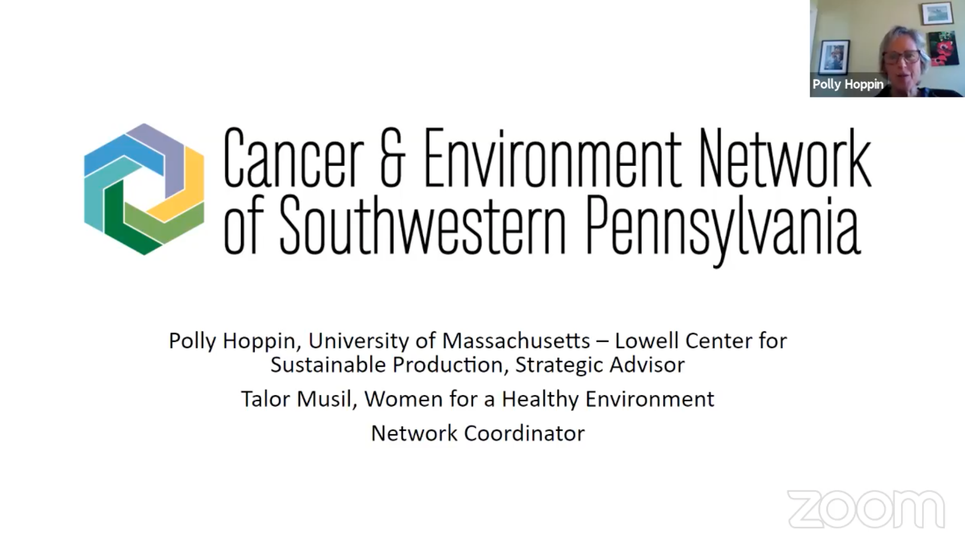 Cancer and Environmental Pollution in Greater Pittsburgh, PA