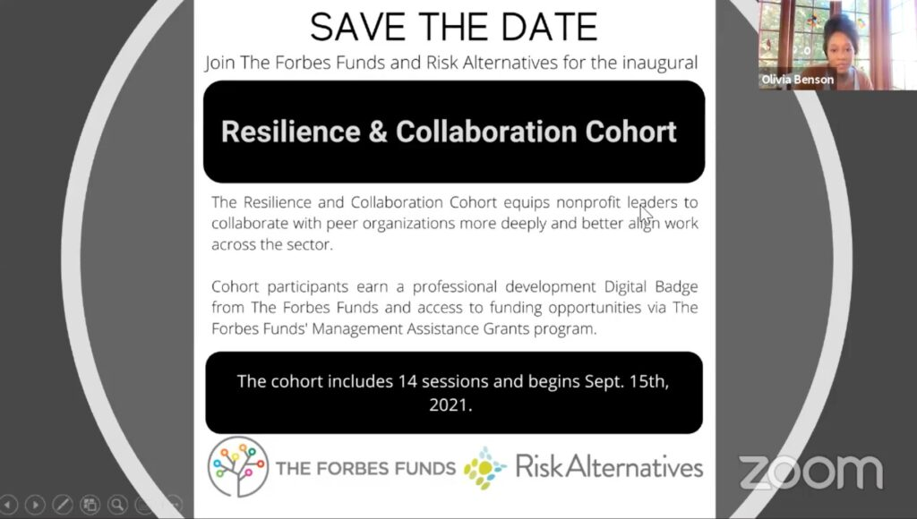 Resilience and collaboration cohort