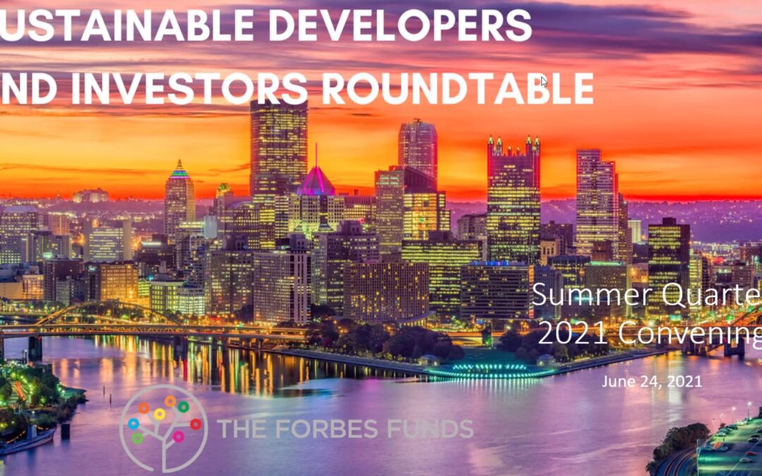 Sustainable Developers and Investors Roundtable Digest