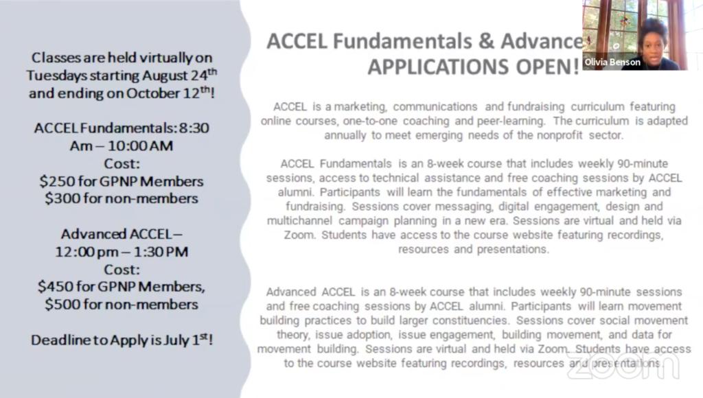 ACCEL Fundamentals Application slide
