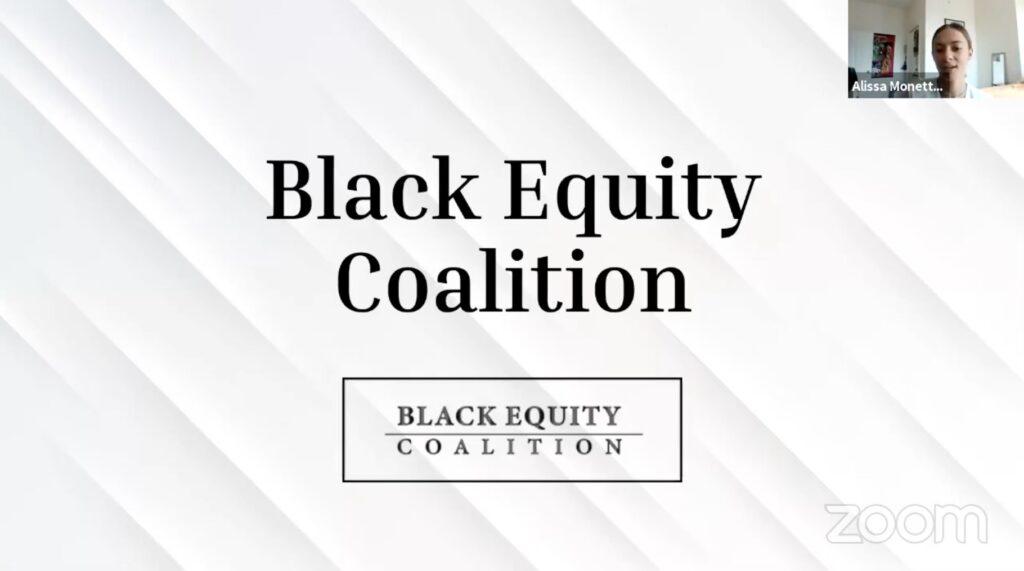 Black Equity Coalition Slide