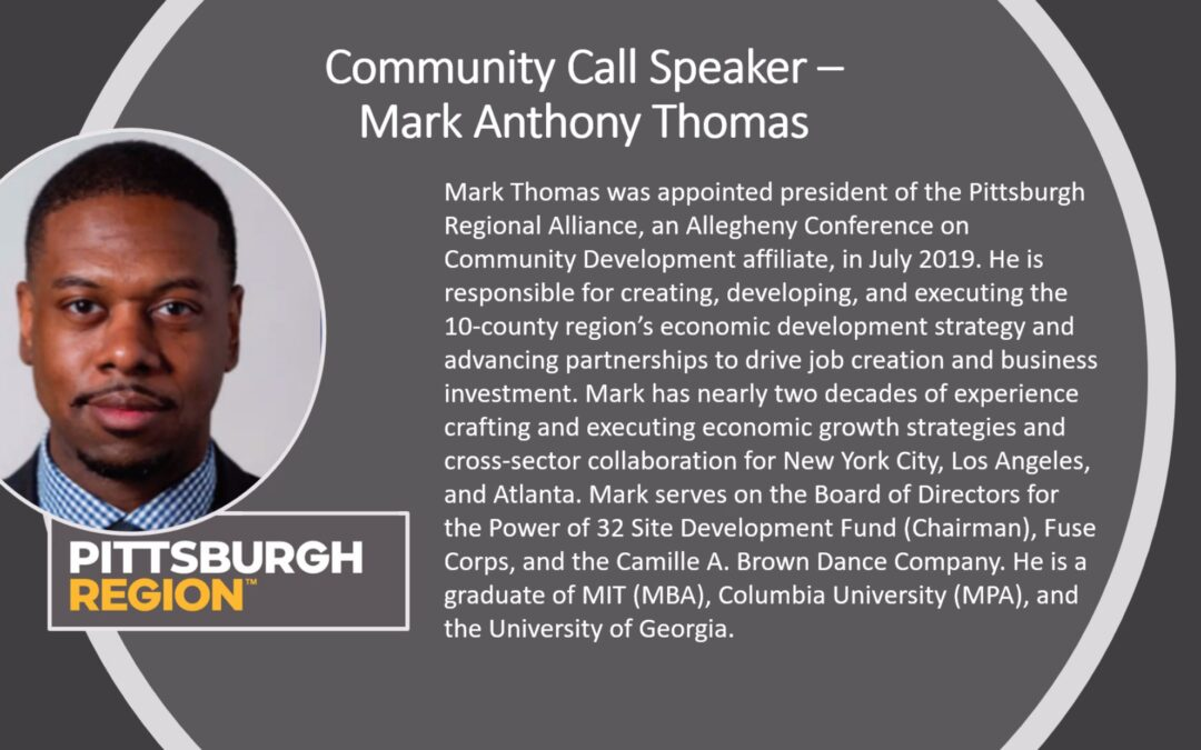 Strategic Economic Development: A Talk with Mark Anthony Thomas