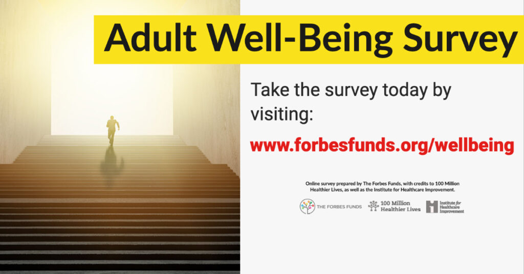 Adult Well-Being Survey for Pittsburgh Leaders and Professionals - Promo Graphic