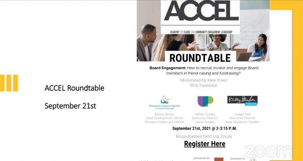 ACCEL Roundtable Slide