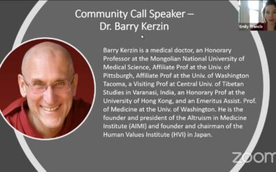 Becoming a Better Person through Compassion: A Talk with Dr. Barry Kerzin