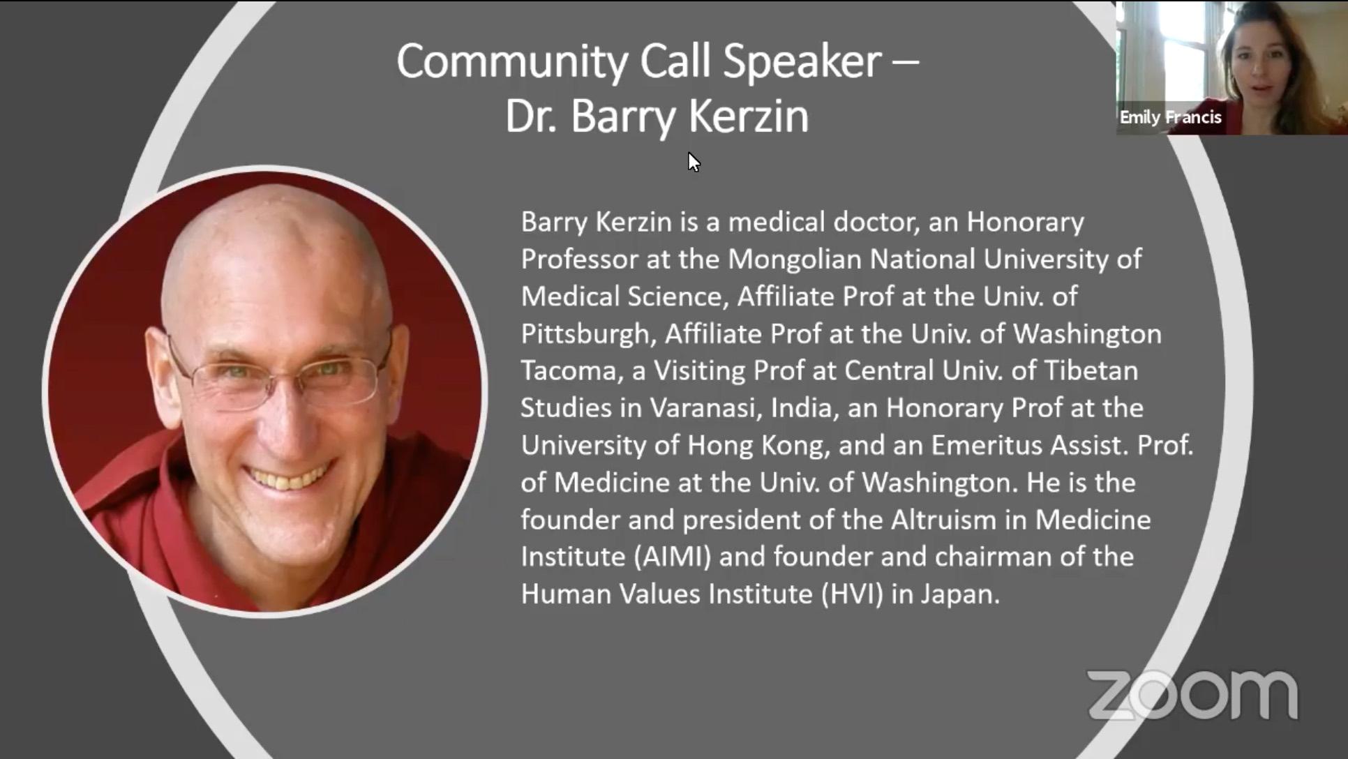 Barry Kerzin Bio