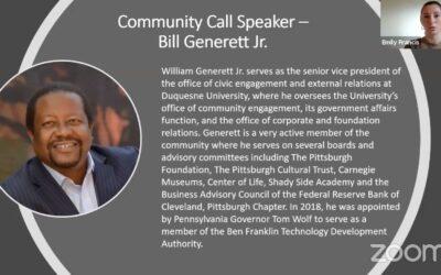 University and Community Relations: A Talk with Bill Generett Jr.