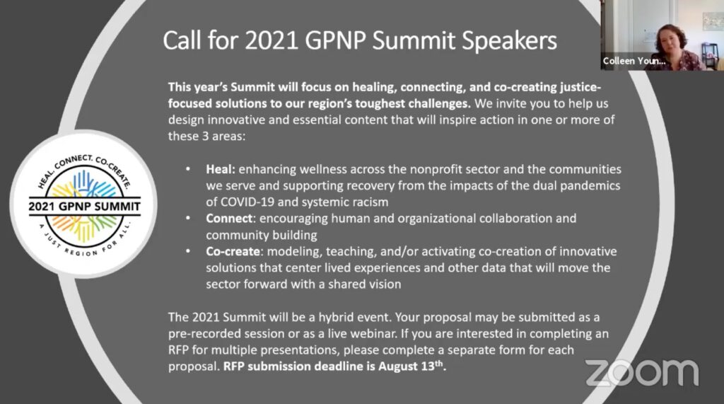 2021 GPNP Summit Speakers Slide
