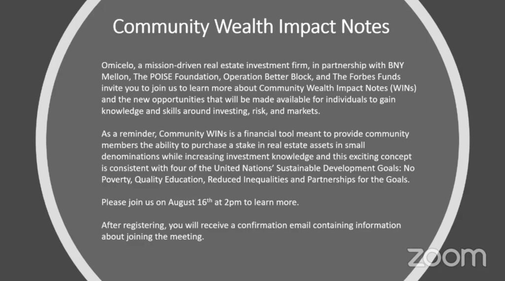 Community Wealth Slide.