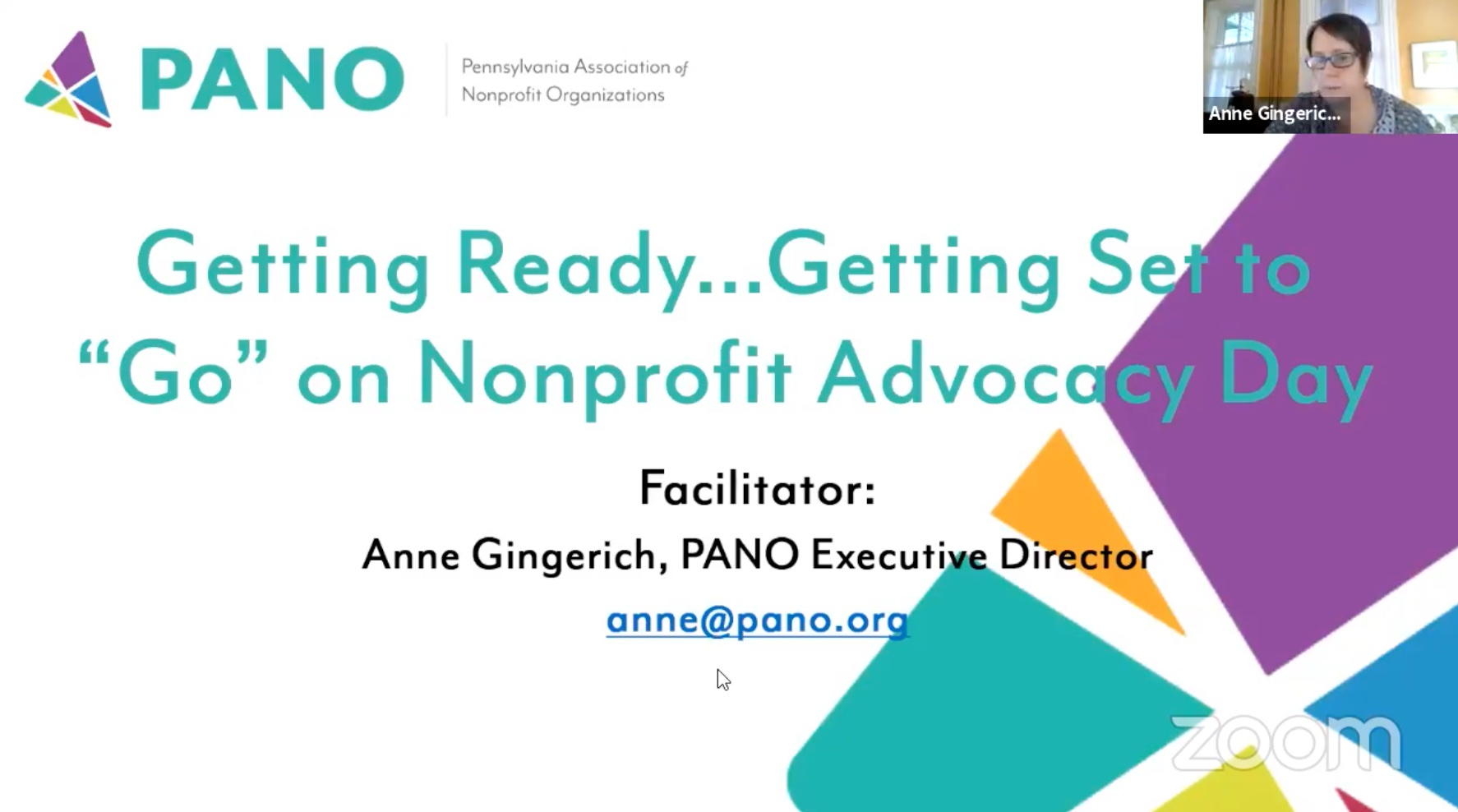PANO Nonprofit Advocacy Day Slide