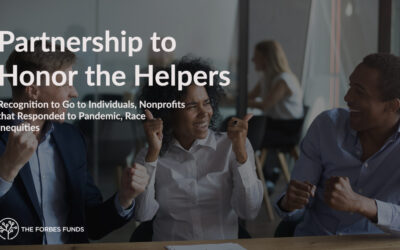Partnership to Honor the Helpers: Recognition to Go to Individuals, Nonprofits that Responded to Pandemic, Race Inequities