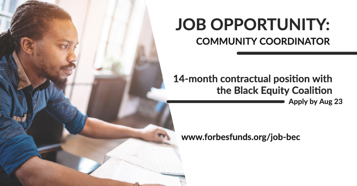Job Opportunity for the Black Equity Coalition