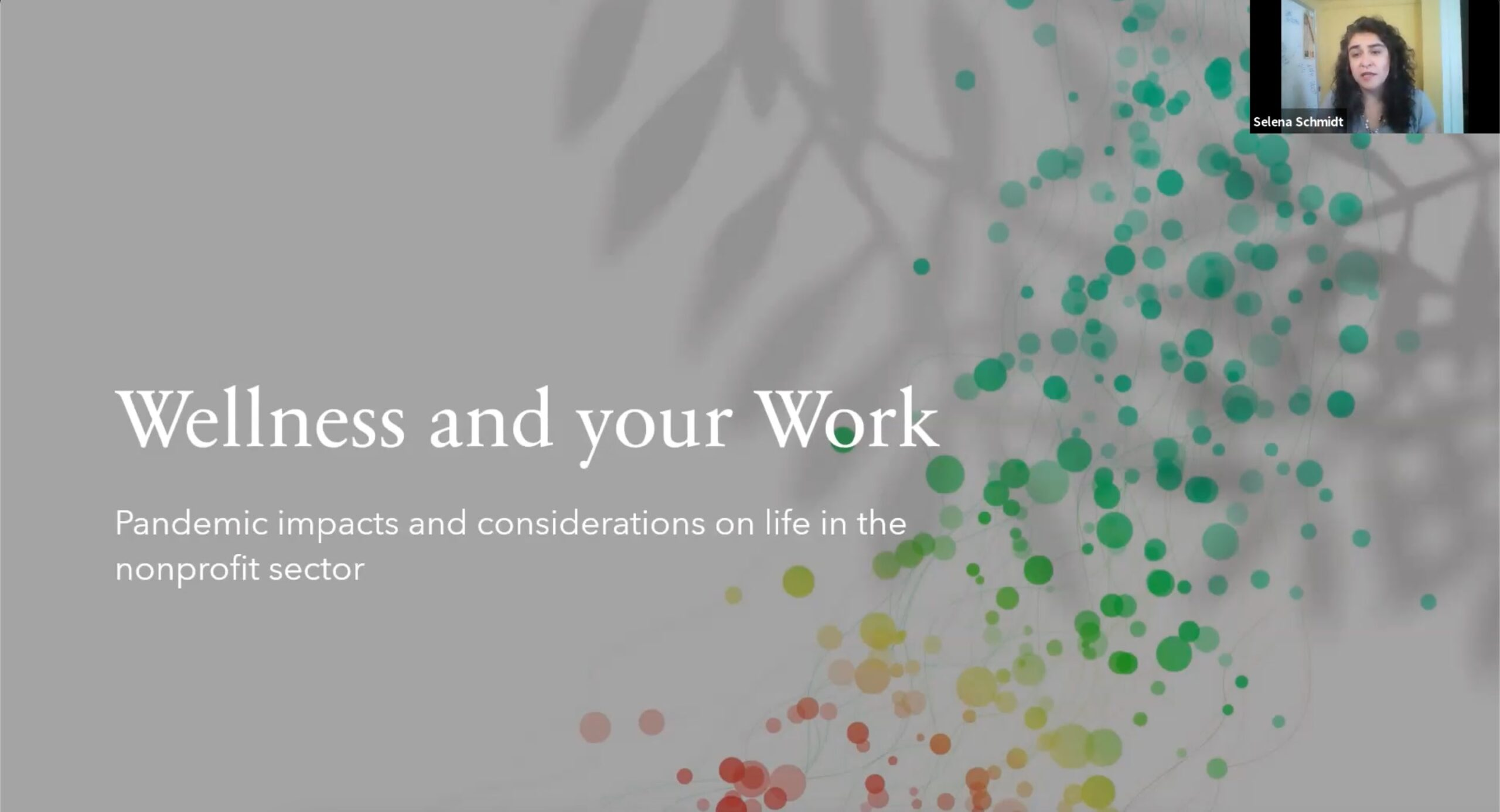 Wellness and Work Slide